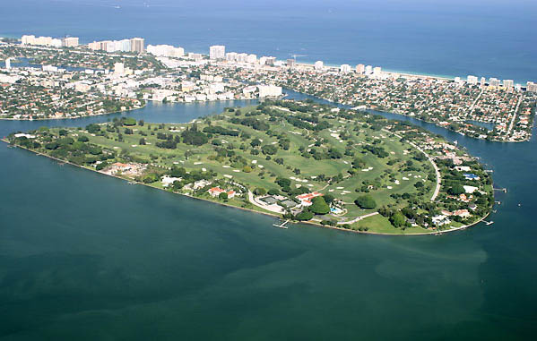 Indian Creek real estate Indian Creek Island Florida - arial view of Village