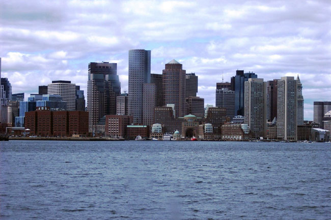 Boston Massachusetts real estate - Boston skyline