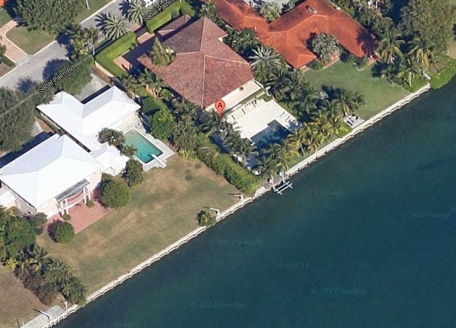 Enrique Iglesias Miami home