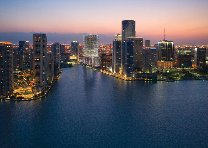 Miami real estate - Miami Florida rare arial view