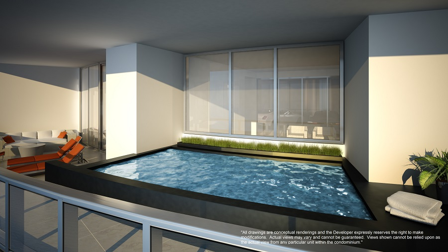 porsche design tower terrace pool 1 of 2 in penthouse