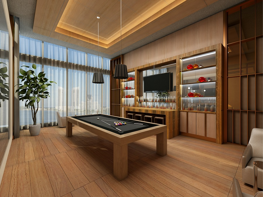 Prive Billiards Room