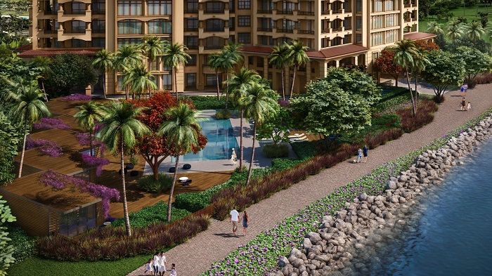 Palazzo del Sol new real estate development on Fisher Island
