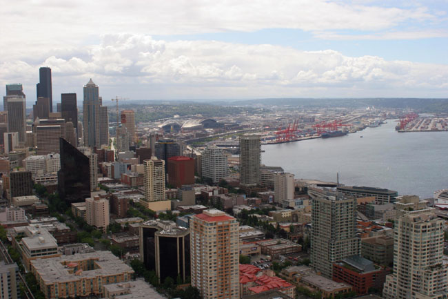 Seattle real estate - arial view