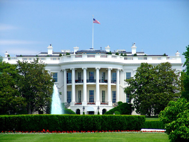 The White House - finest real estate in America