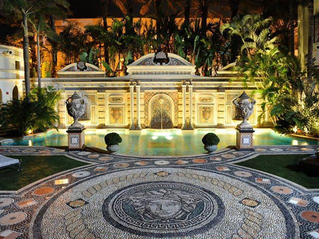 Versace Mansion South Beach Miami Beach Florida