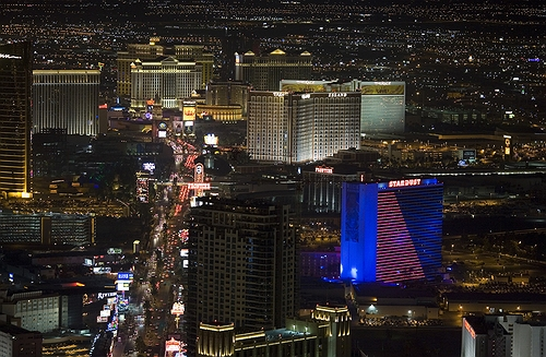 Las Vegas real estate -  aerial photograph