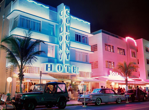 South Beach Ocean Drive, Miami Beach Florida