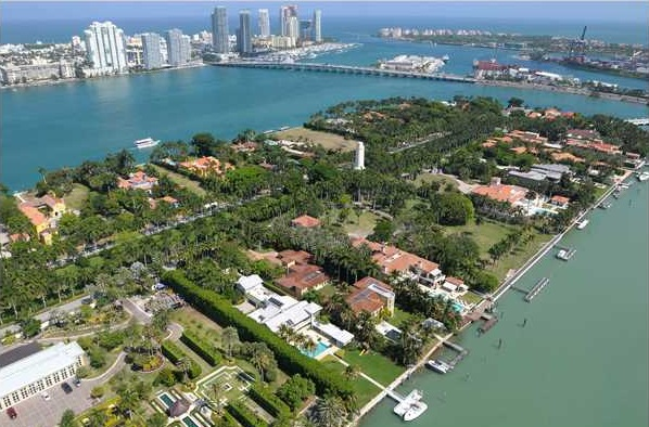 Star Island facing South Beach condos