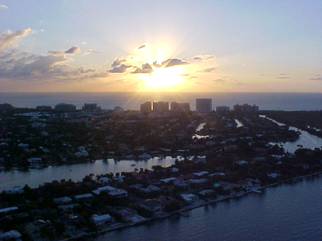 Key Biscayne real estate Key Biscayne Florida - view at sunrise